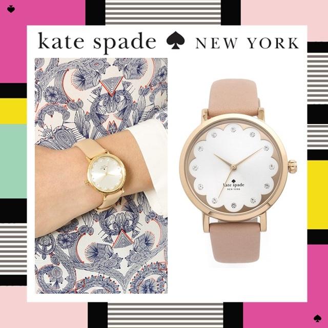 【正規品】kate spade new york 新作 ケイトスペード Kate Spade New York Novelty Metro Watch ケイトスペード 時計 マーク時計 レディース時計 ブランド時計 プレゼント 時計 アナログ腕時計 【並行輸入】【中古】【未使用】