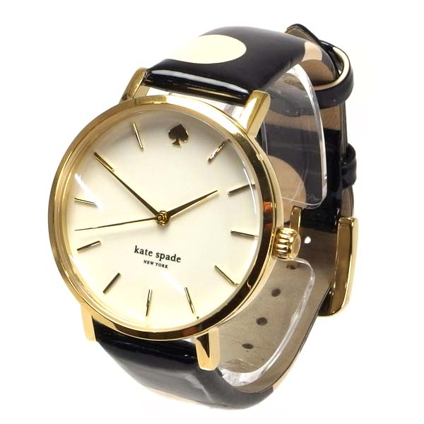 KATE SPADE ケートスペード 時計 ウォッチ KS1YRU0173 レディース時計 腕時計 ブランド 時計 ステンレススチール ケース 子牛革 ベルト 革 本革