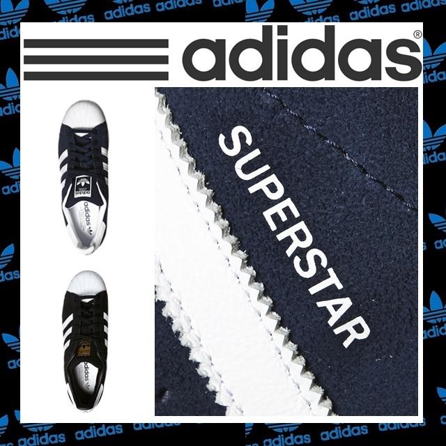 【正規品】adidas originals アディダスオリジナル 新作 adidas superstar adidas スーパースター アディダス スーパースター アディダス スニーカー ネイビー ブラック【並行輸入】【中古】【新品】【未使用】