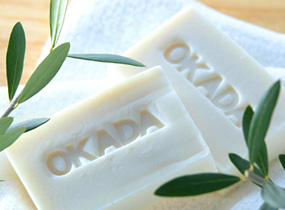 With the additive-free SOAP ☆ Okada soaps for sensitive skin 100 g NET