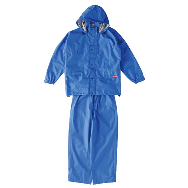 ニューグランドスラムレイン ブルー ♯8200【レインスーツ・雨具・雨合羽】