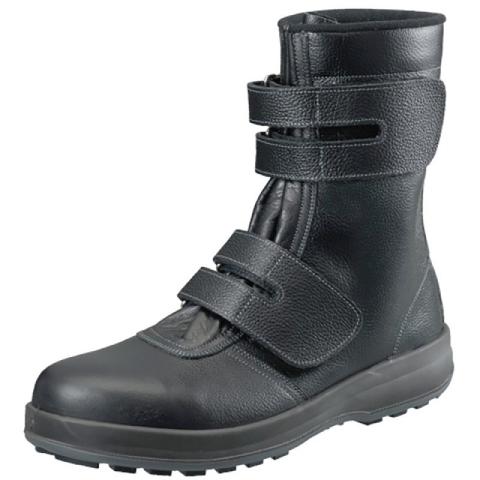 シモン 安全靴 WS38黒 SIMON マジック 長編上靴 SX3層底Fソール 牛革 JIS T8101革製S種 普通作業用 歩きやすい 疲れにくい 滑りにくい