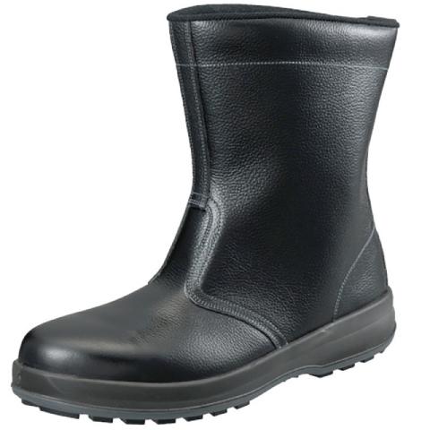 シモン 半長靴 安全靴 WS44黒 SIMON 安全靴 SX3層底Fソール 牛革 JIS T8101革製S種 普通作業用 歩きやすい 疲れにくい 滑りにくい