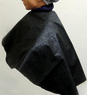 ≪ヘナ染めに使う肩からかけるケープ≫ ヘナ・白髪染め用ケープ