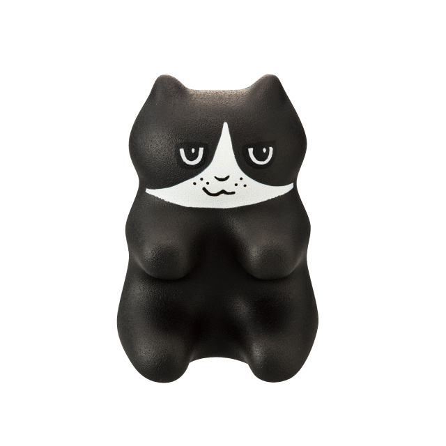 korimomunyan polyurethane kitty shape massage tool cat shape acupressure tool