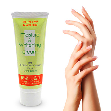 Duskin medicated moisturizing & whitening cream hand & body cream
