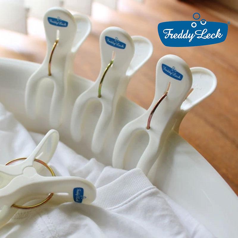 贈答品 フレディレック ポールピンチ 6個セット 白に青のデザインがかわいい洗濯ばさみ 肌ざわりもよく お洗濯がたのしくなる ピンチ ポールペグ LINEでクーポン ウォッシュサロン 洗濯ばさみ 5☆大好評