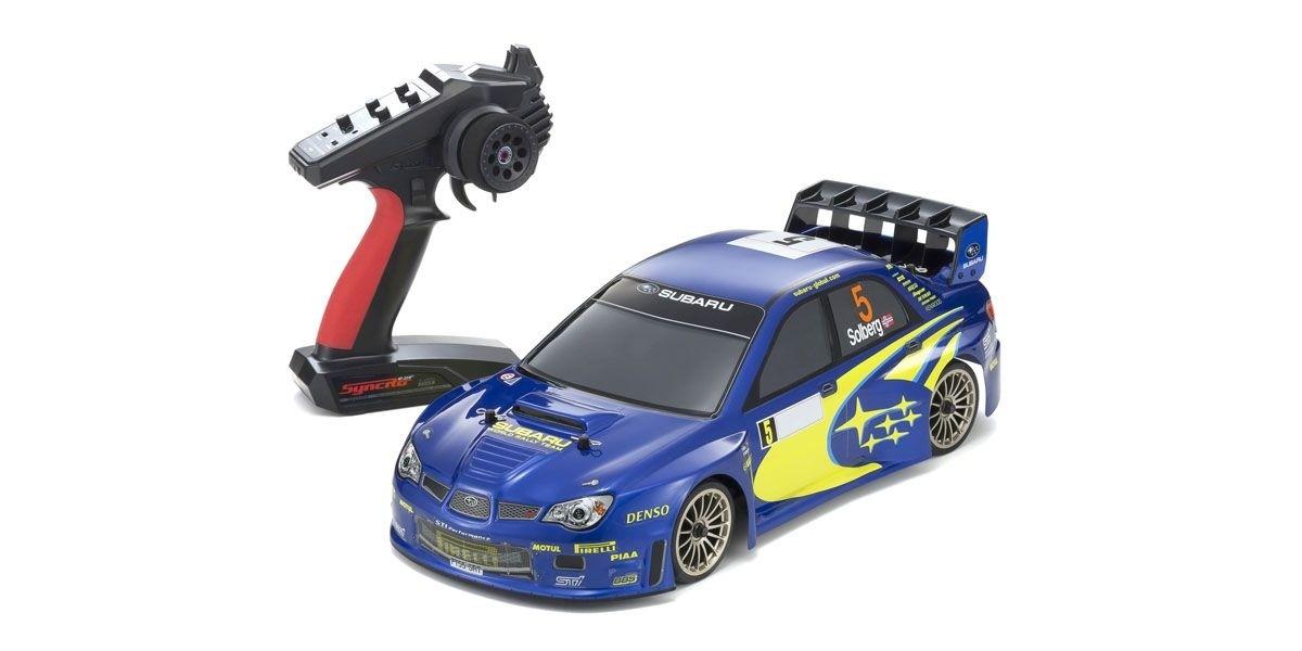 京商 1/10 ピュアテンGP FW-06 スバル インプレッサ WRC 2006 KT-231P+付 4WD レディセット 送信機付