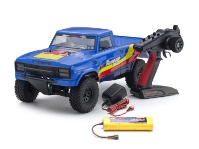 京商1/10スケール 電動ラジオコントロール 2WDトラック 2RSAシリーズ アウトローランページ タイプ2 34361T2 Blue