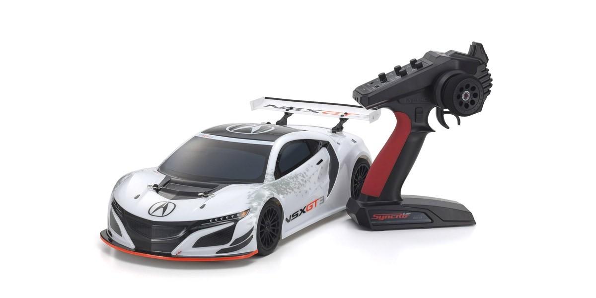 京商1/10スケール 電動ラジオコントロールカー ACURA NSX GT3 RACECAR Ready set