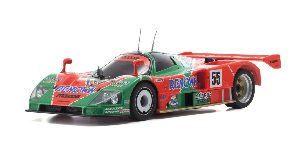 京商 ミニッツRWD MAZDA 787B No.55 Le Mans 1991 Winner