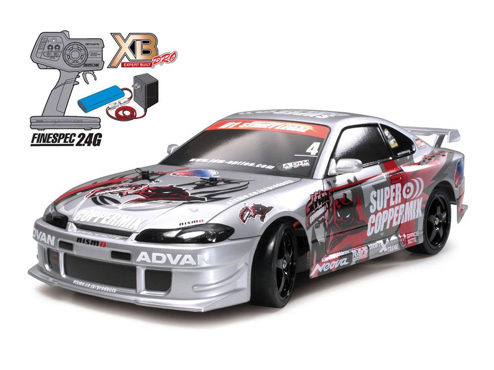 タミヤ XB NISMO COOPERMIX Silvia (TT-01Dシャーシ TYPE-E)ドリフトスペック 完成フルセット