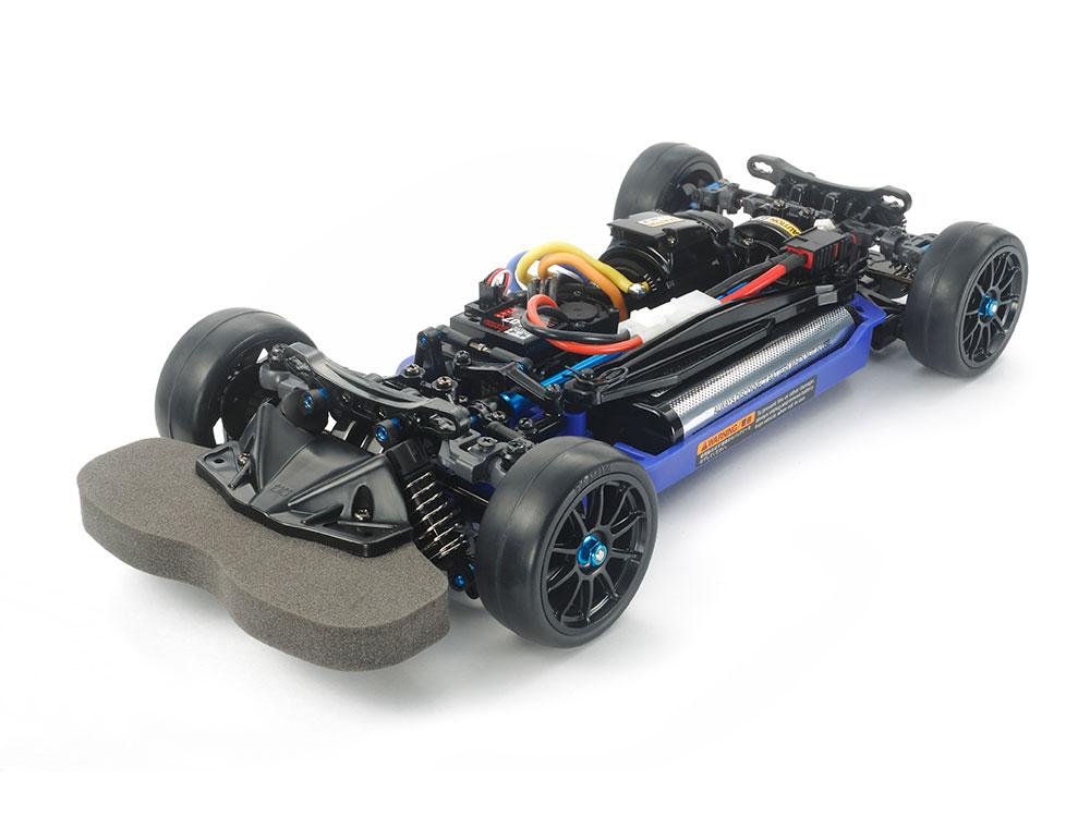 タミヤ 電動ラジコン4WD Racing Car組立キット 1/10RC TT-02RR シャーシキット 47382*写真はキットを組み立てたものです。バッテリー、受信機、スピードコントローラー、サーボは含まれません。
