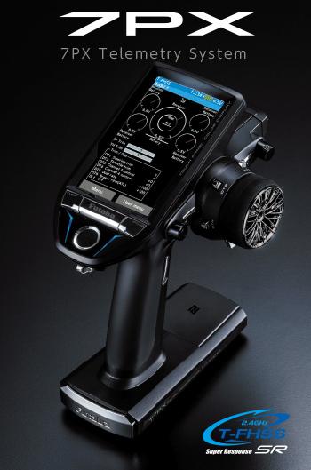 フタバ 7PX-2.4G T/Rセット・シングルレシーバー