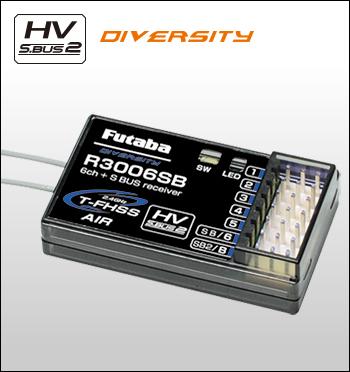 フタバ 空用受信機 R3006SB