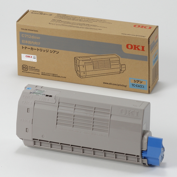 OKI トナーカートリッジ TC-C4CC1(シアン) 純正品