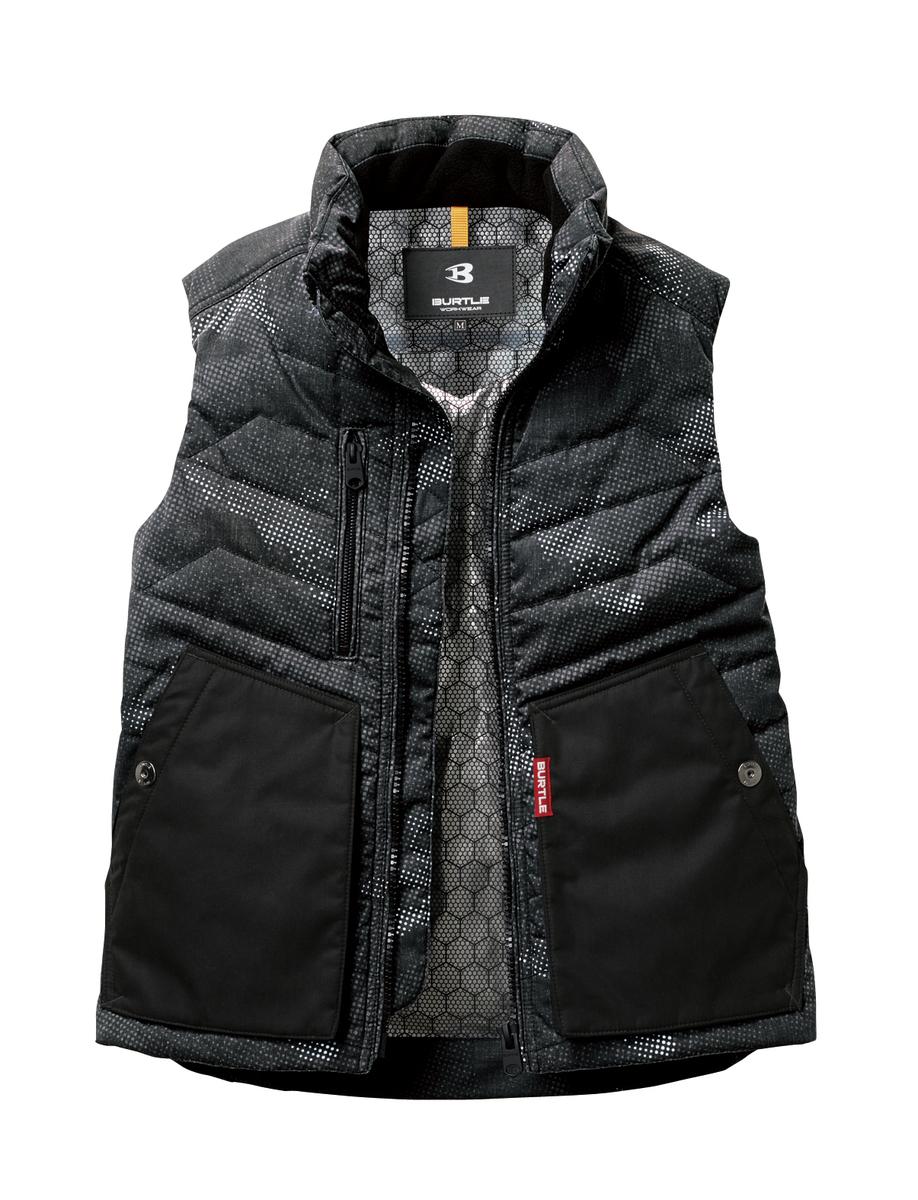 国際ブランド ディスカウント 人気のバートルを着て 寒さをはねかえそう 人気の作業着 バートル最新作 品番5264 防寒ベスト 全4色 保温性と耐久性を発揮する逸品です 優れた防風