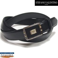 【お買得 ベルト メンズ 本革 ビジネス】 ビジネス メンズ ベルト 自由な留め位置で着用 フィット バックル (無段階調整タイプ) STEFANO VALENTINO ITALIA ベルト ビジネス メンズ(1) 100cmまで対応タイプ ブランド 新生活応援 お得なクーポン配布中