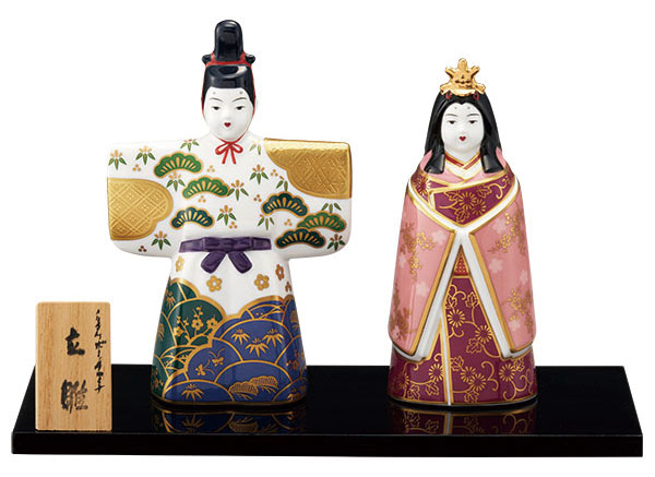 ノリタケ 立雛 送料無料| おしゃれ 人形 雛人形 お雛様 日本製 焼き物 noritake 陶器 陶磁器 おすすめ 陶製 節句 お節句 桃の節句 3月3日 三月三日 お祝い 祝い 記念品 贈答品 インテリア 置物 プレゼント ギフト