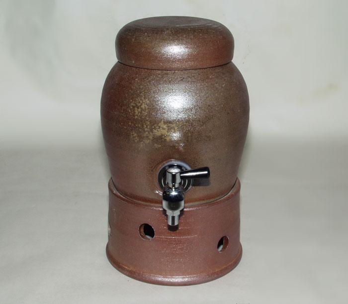 焼酎サーバー デキャンタ 酒器 備前焼 サーバー(桟切) 1800cc