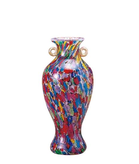 津軽びいどろ 花瓶 大川薫工房 ねぶたまつり ミニ 花瓶 石塚硝子 アデリア