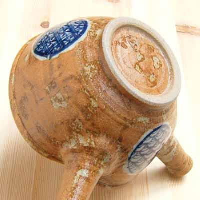 凉开水有田烧茶具有田烧irabo织物上的花纹凉开水