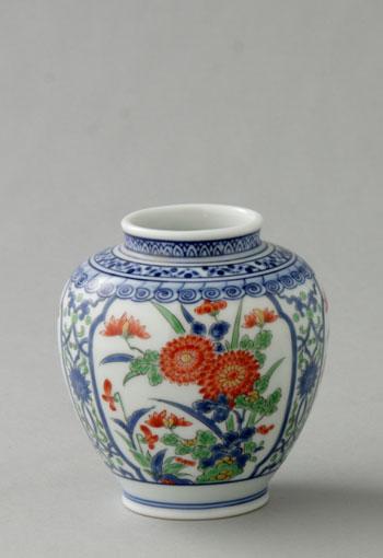 Saian P27mar15 Vase Pottery Flower Vase Bud Vase Sob Memorabilia