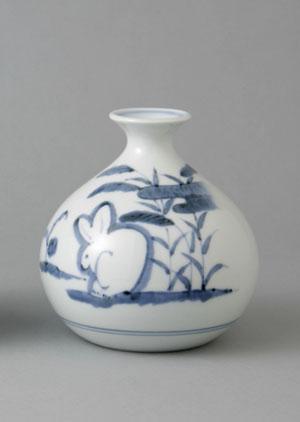 Saian Rakuten Global Market Flower Vase Bud Vase Porcelain Flat