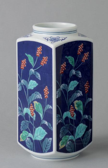 本物品質の 有田焼 8寸京型花瓶 水草 8寸京型花瓶 水草 有田焼 Y223-W, 和歌山県:38593e7e --- pokemongo-mtm.xyz