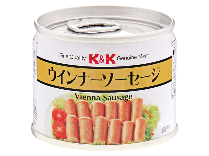 イージーオープン缶詰ウインナーソーセージ ×24缶