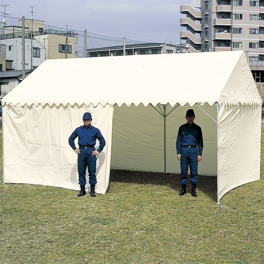 【送料無料】OK式テント 1.5×2間 屋根幕付