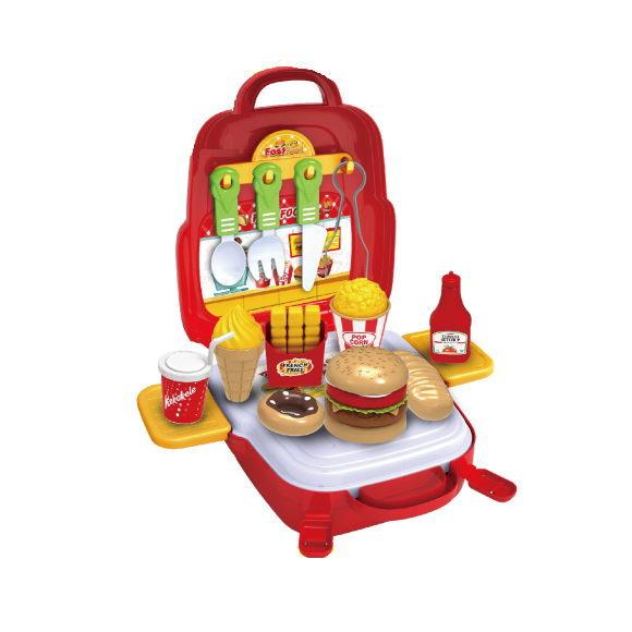 ハンバーガーショップセット TY-0141B 子供用 遊び おもちゃ 玩具 おままごと プレゼント イベント 在庫一掃 配送員設置送料無料 パーティー クリスマス