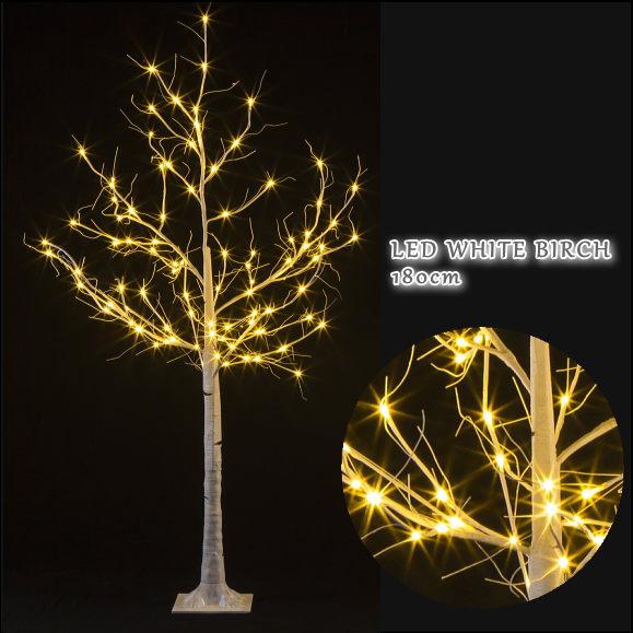 LEDホワイトブランチツリー 180cm 1062 イルミネーション 電飾 価格 LEDライト 店舗装飾 おしゃれ 人気ショップが最安値挑戦 ディスプレイ オブジェ 飾り インテリア雑貨 木