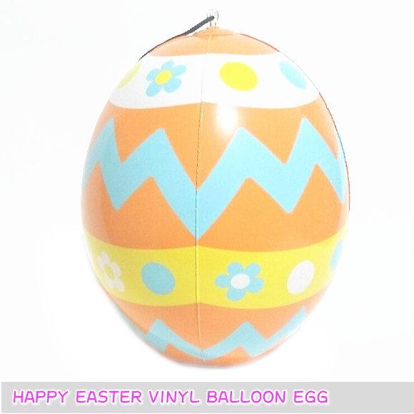 【10個セット】イースター ビニール2WAYディスプレイ エッグ (8407・EASTER・たまご・かわいい 卵・イベント・店舗装飾)