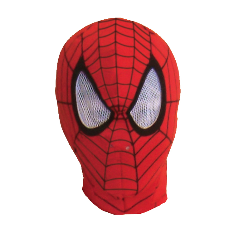 20 cm (c) Marvel Spider-man mask adult, men and women shared MARVEL SPIDER MAN MASK FOR ADULT Halloween party outfit costume fancy dress