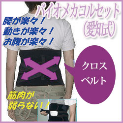 【送料無料】バイオメカコルセット(愛知式)