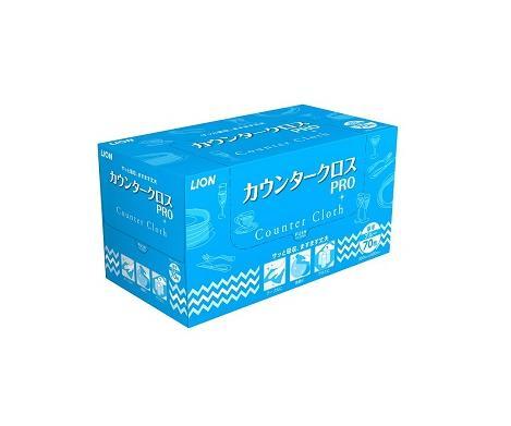 ライオンハイジーン カウンタークロス PRO ブルー 70枚×6個【ケース販売品】