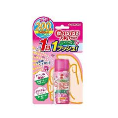 【送料無料】金鳥 蚊がいなくなるスプレー 200日 ローズ 45ml 24個セット【ケース販売品】