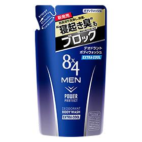300 ml of 8x4 (eight four) men deodorant bodywash extra cool refilling