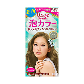 Kao Liese PRETTIA bubble color cool ash