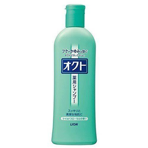 【送料無料】ライオン オクト 薬用シャンプー 320mL×24本【ケース販売品】