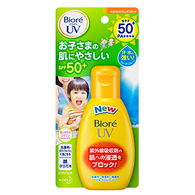 Biore smooth UV put kids milk 90 g SPF 50 +
