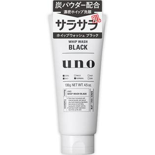 【送料無料!】資生堂 ウーノ 洗顔ホイップウォッシュ ブラック 130g × 36個