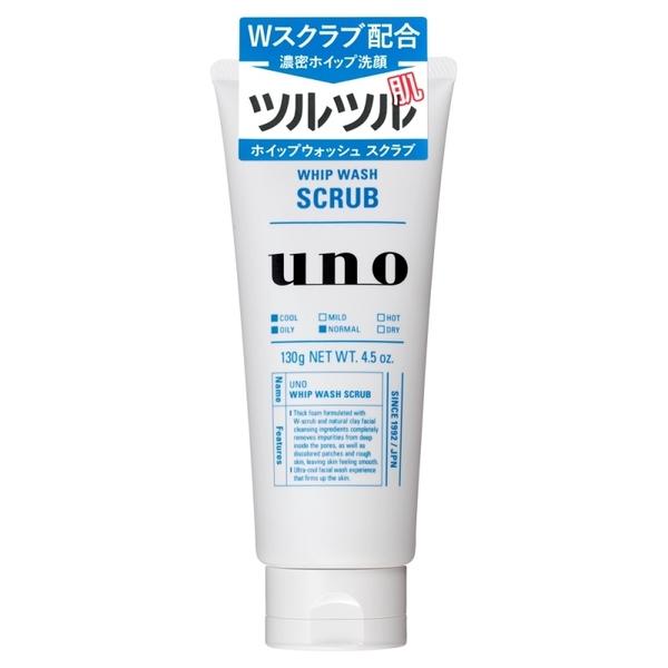 【送料無料!】資生堂 ウーノ 洗顔ホイップウォッシュ スクラブ 130g × 36個