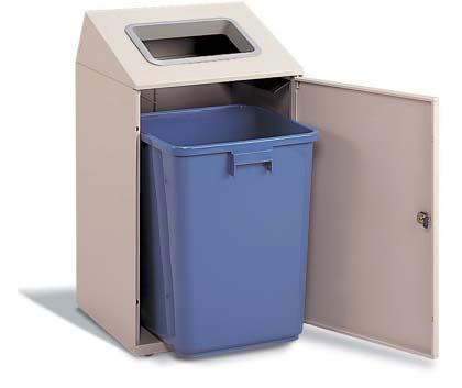 テラモトニートSTF ペットボトル用ゴミ箱 67リットル 屋内用