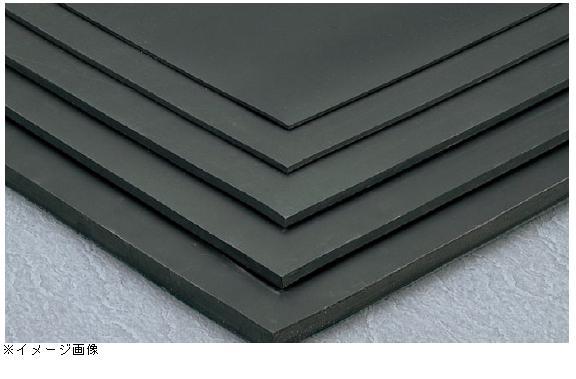 テラモト 平ゴムマット 天然 黒 1m×10m 厚さ10mm (MR-152-810-7)