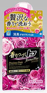 Top aroma plus precious pink fragrance which continues an ornate pink rose fragrance 400 g