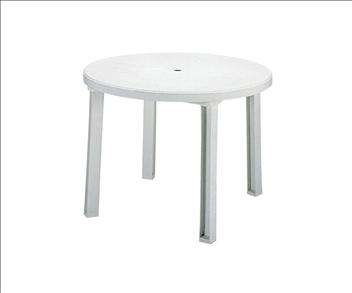 テラモト ガーデン サンテーブル(お客様組み立て品) φ1000×H720mm MZ5952018