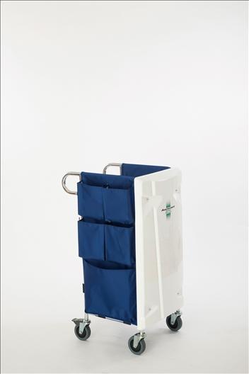 テラモト エアロカートΣ(シグマ) 清掃用メンテナンスカート (DS-227-900-0)
