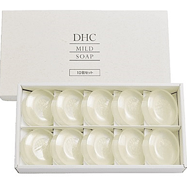 DHC セット マイルドソープ (1箱) 10個 セット DHC (1箱) 固形洗顔石鹸, ニシイバラキグン:82d26449 --- officewill.xsrv.jp